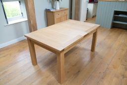 Tallinn 160cm Extending To 200cm Oak Dining Room Table