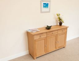 Tallinn 140cm Wide European Oak Sideboard