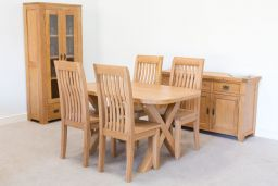 Westfield Solid Oak Dining Room Chair with Timber Seat