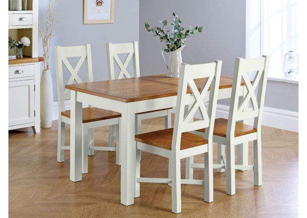 Oak Dining Table Chairs Sets Top Furniture