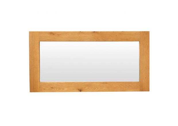 Country Oak 120cm X 60cm Oak Mirror - SUMMER SALE