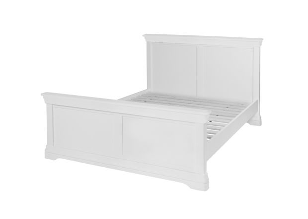 Toulouse White Painted 5 Foot King Size Bed