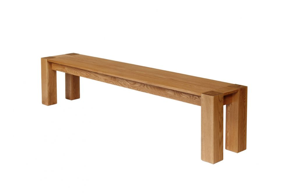 Cambridge 200cm Large Oak Bench