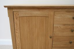 176cm Baltic Large Oak Sideboard