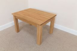 Baltic 80cm x 60cm Solid Oak Coffee Table Standard Legs