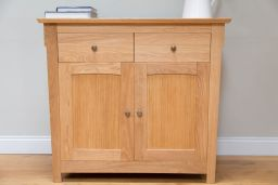 Baltic small European oak sideboard from Top Furniture Ltd
