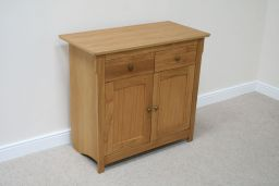 100cm Baltic Small Oak Sideboard