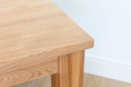 Baltic Solid Oak Lamp Table 60cm x 60cm