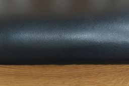 Churchill Black Leather Solid Oak Dining Chair