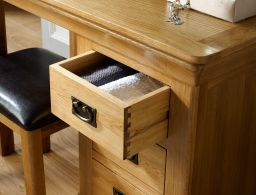 Farmhouse Country Oak Dressing Table
