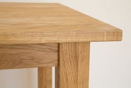Minsk 2 Seater 80cm x 80cm Small Square Solid Oak Dining Table