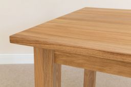 Minsk 1.2m Solid Oak Dining Table