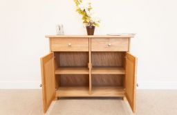 Tallinn 100cm Wide European Oak Sideboard