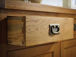 Farmhouse Country Oak 160cm Large Rustic Oak Sideboard