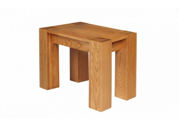 Cambridge 75cm Small Oak Dining Bench