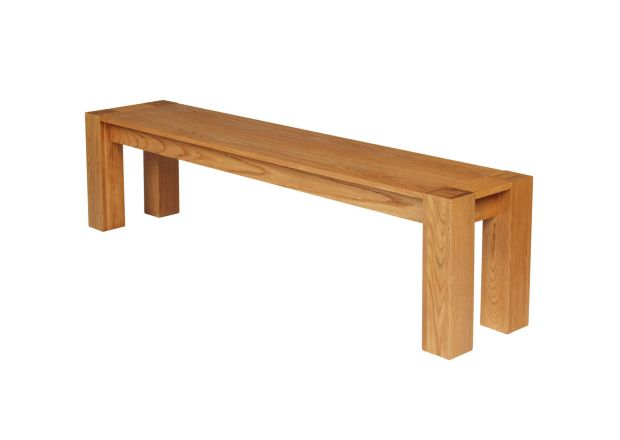 Cambridge 180cm Large Oak Indoor Bench - WINTER SALE