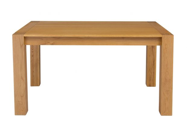 Cambridge 140cm Oak Dining Table - WINTER SALE