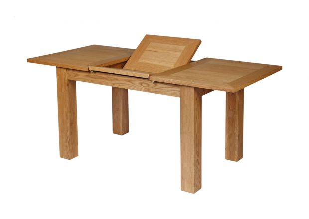 Caravella 170cm Butterfly Extending Oak Dining Table
