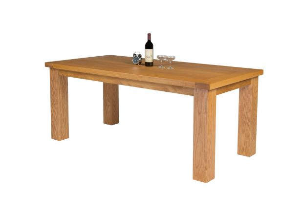 Riga 180cm Oak Dining Table - SPRING SALE