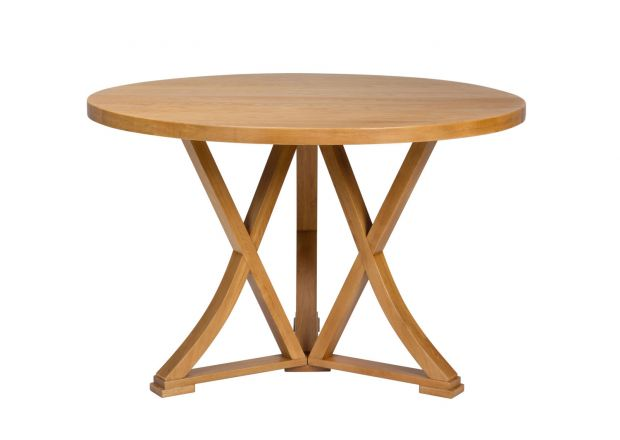 Country Oak 120cm Round Oak Table - JANUARY SALE
