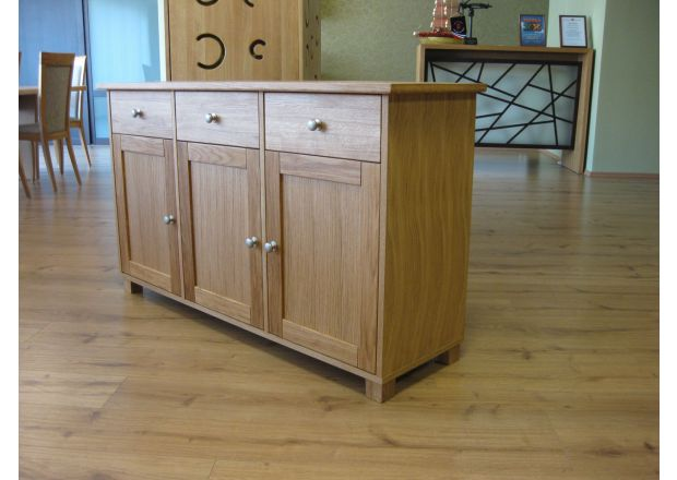 Tallinn 140cm Wide European Oak Sideboard - JANUARY SALE
