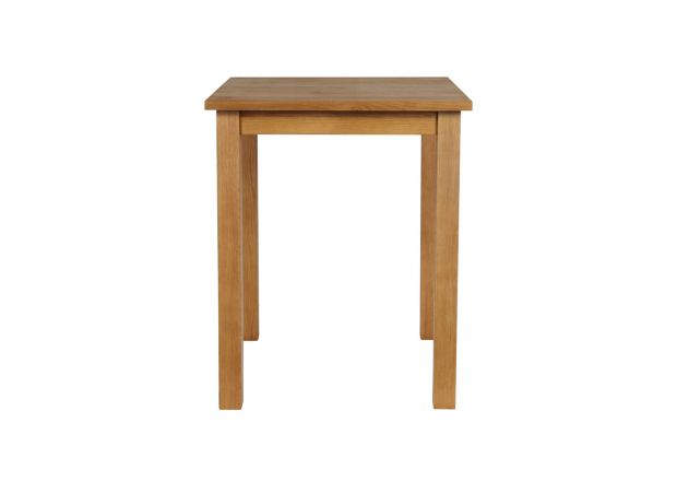 Tall Country Oak Breakfast Bar Table 80cm Square - SPRING SALE