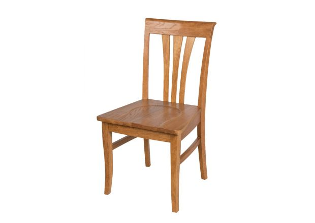 Victoria Solid Oak Dining Chairs - WINTER SALE