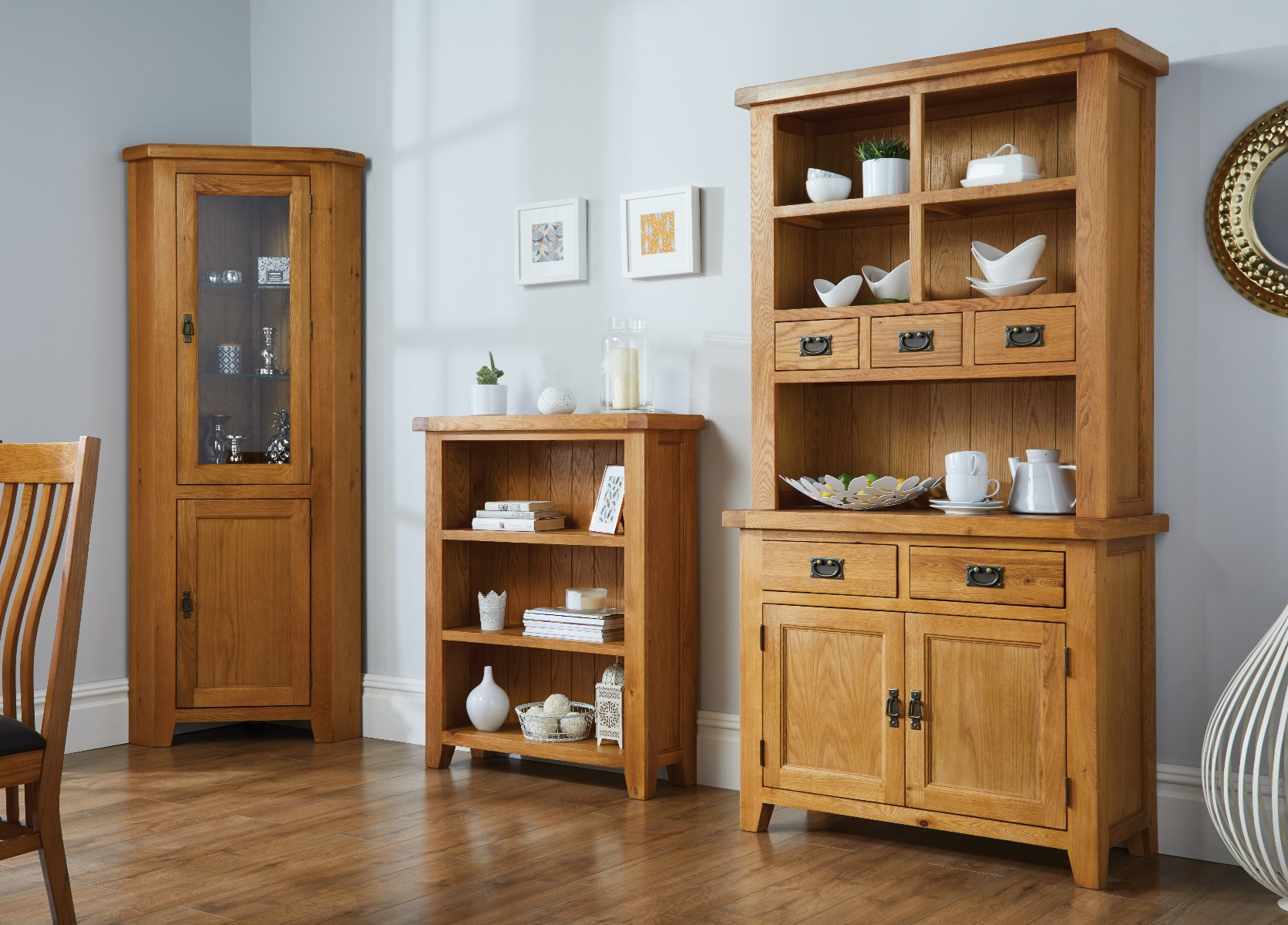 oak living room furniture country oak range from Top Furniture