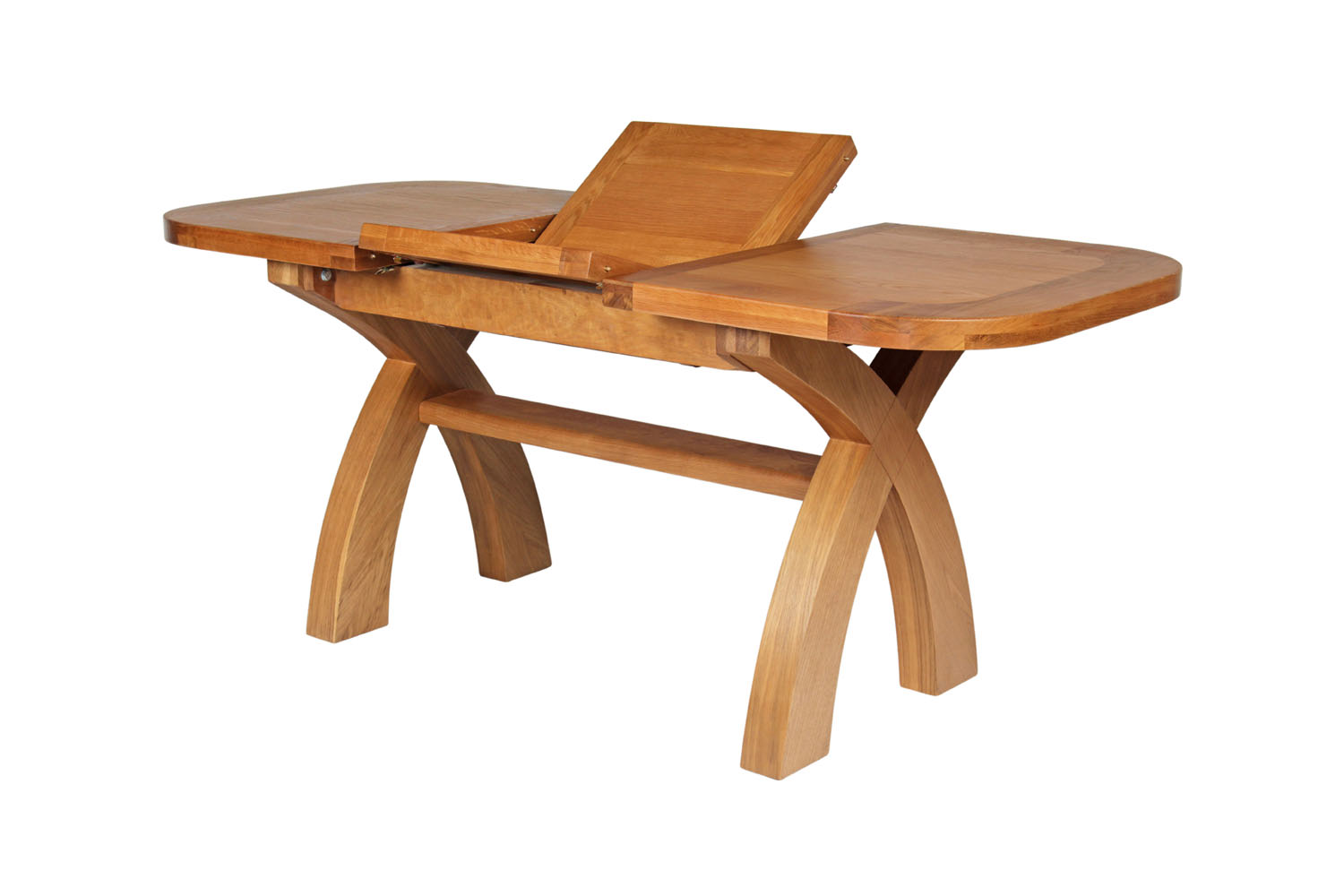 Small cross leg table butterfly extending oval table watchthetrailerfo